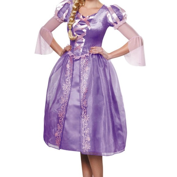 Disney Dresses | Brand New Rapunzel Costume For Adults | Poshmark